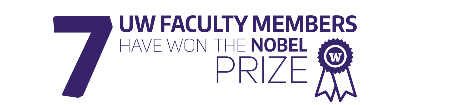 7 uw faculty have won the nobel prize