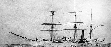 us revenue cutter thetis ship in 1903 photo