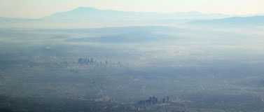 Air pollution seen over Los Angeles. Andreas Christen/Flickr