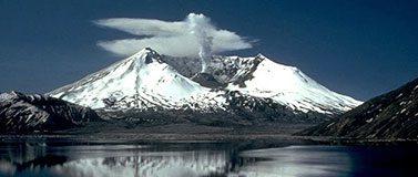 Mt St. Helens landscape shot