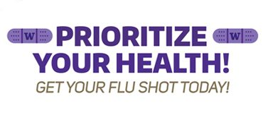 Prioritize your health - get your flu shot
