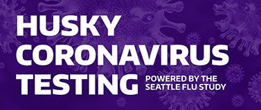 Husky Coronavirus Testing graphic