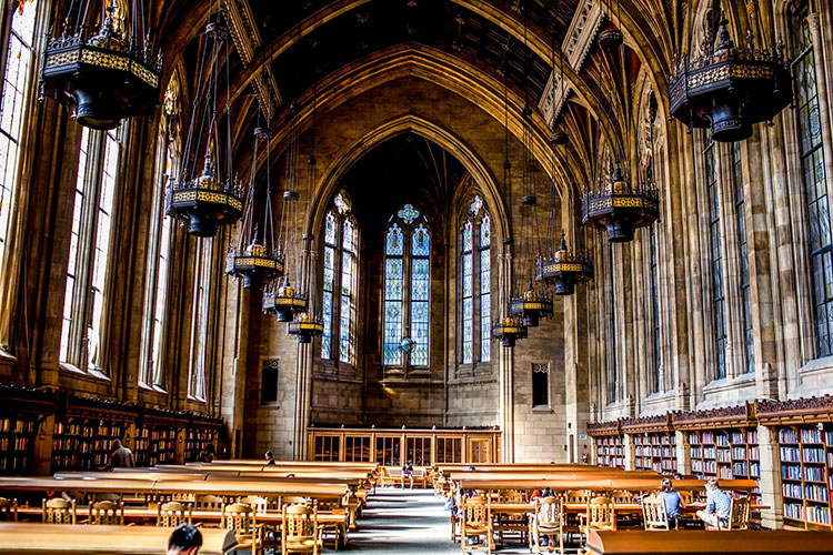 Reading Room at Suzzallo Library