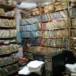 Electronic data collected on smartphones and uploaded to a server is much more easily accessible than the stacks of paper records in the Kisumu District Hospital medical records room.