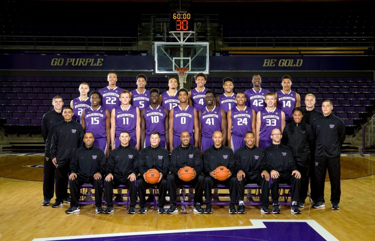 UW men's basketball team