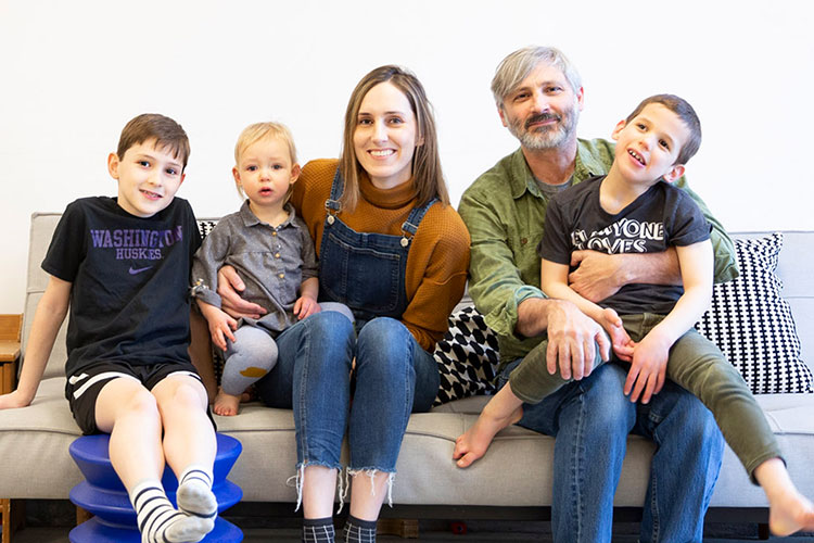 Sunderland family portrait