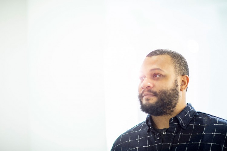 Chicago-based artist Danny Giles is the 2019 Jacob Lawrence Legacy Resident.