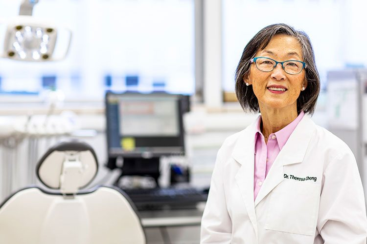 A portrait of UW assistant clinical professor Theresa Cheng