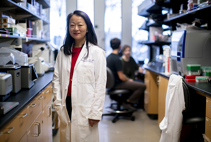 Dr. Helen Chu, associate professor in the UW Medicine Division of Allergy and Infectious Diseases
