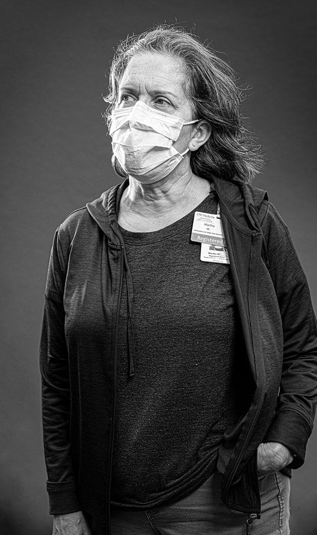 Martha Waldron, R.N., Pioneer Square Clinic Testing Site