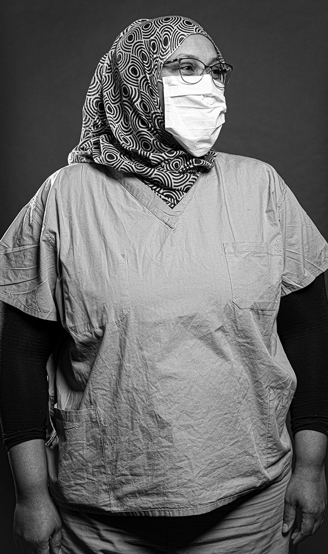 Hani Ismail, R.N., Harborview Medical Center