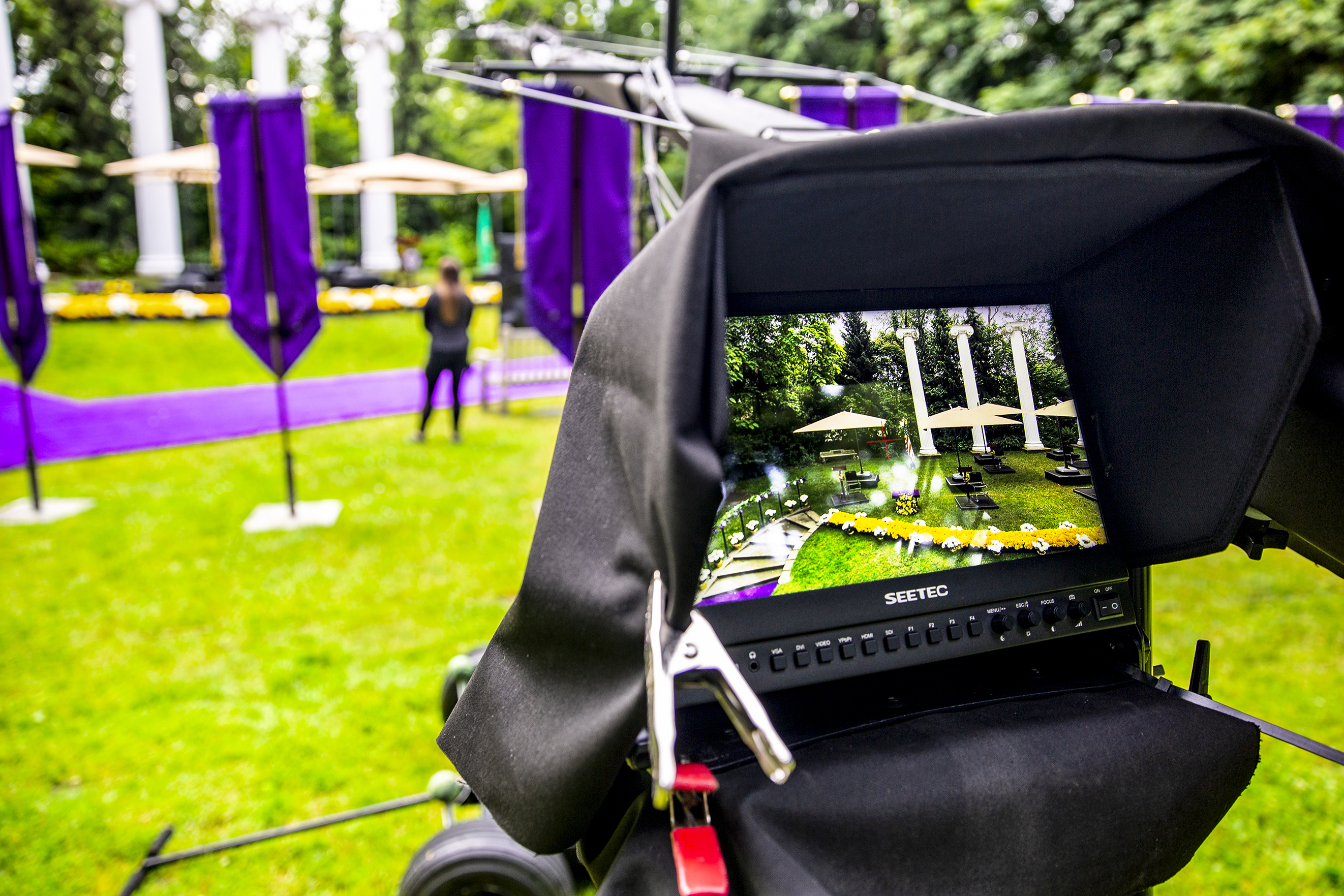 Behind the scenes at Commencement 2020