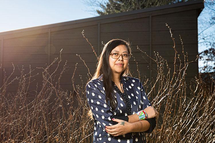 ISchool assistant professor Miranda Belarde-Lewis