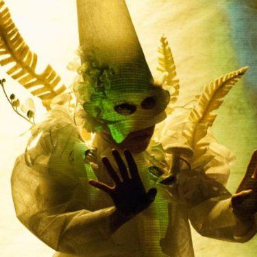 Performance of Skeleton Flower, Degenerate Art Ensemble, 2019. Photo: Bruce Tom