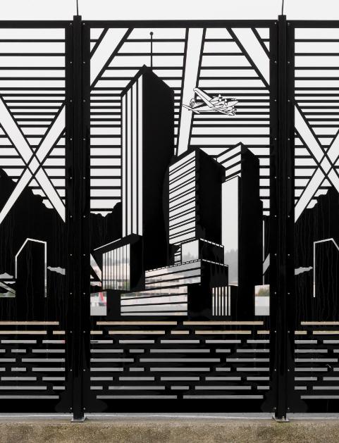 """Metropolis Fence"","