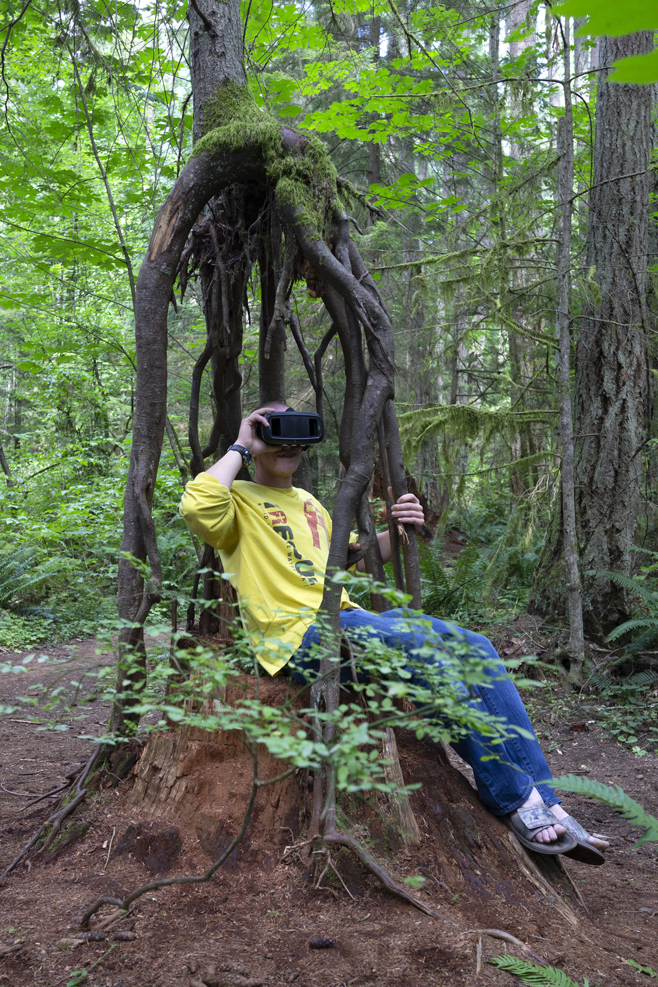 Susan Robb, Pilot program to engage young people through art and nature,