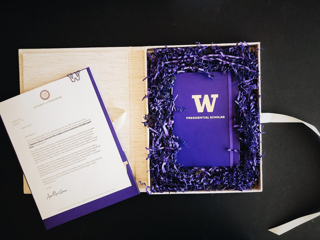 The Presidential Scholarship Package