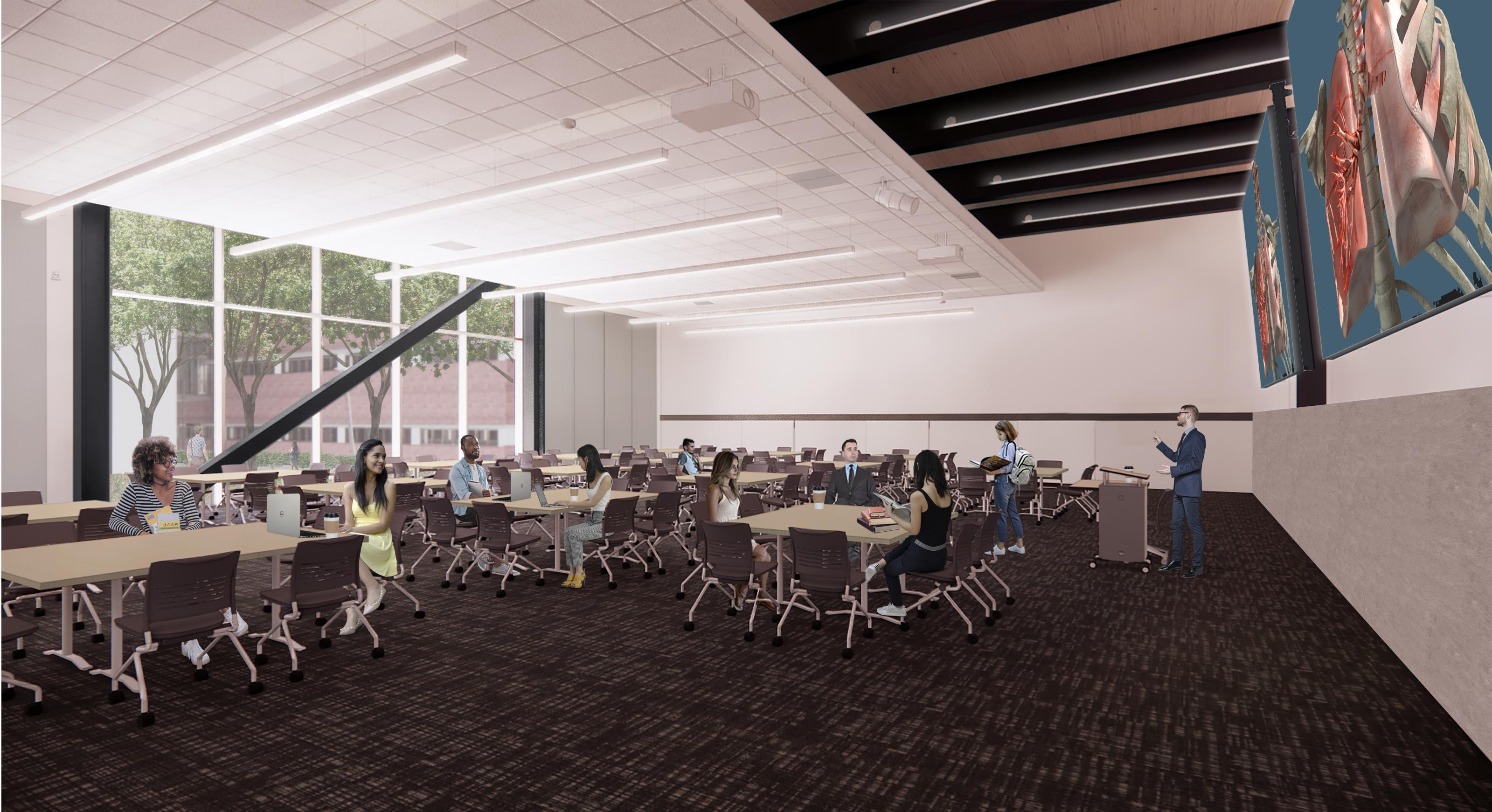 Large Classroom,