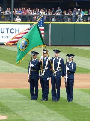 UW Seattle Honor Guard