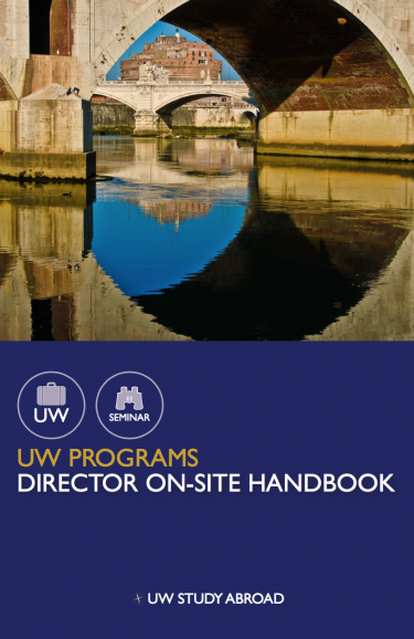 Program Director Handbook Cover Photo