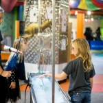 Children interacting with exhibit at Mobius