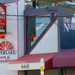 Northlake Tavern storefront and sign