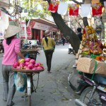 Morning shopping, Vietnam