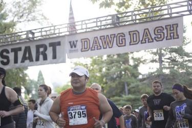 Dawg Dash Start Line