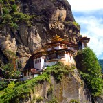 Paro Taktsang, the sacred Tiger's Nest monastery in Bhutan