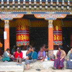 Local people in Bhutan