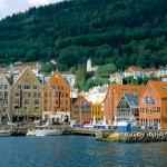Coastal houses, Norway