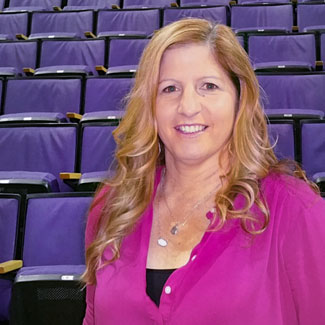 Associate Athletic Director Jen Barsell