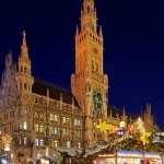 Holiday market in Munich, Germany