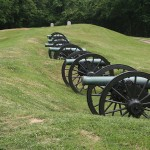 Cannons in Vicksburg, Mississippi