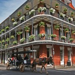 French Quarter in New Orleans, Louisana