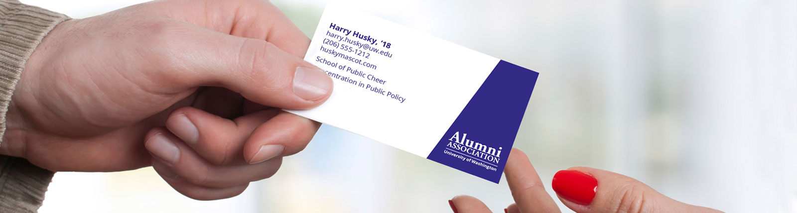 Be prepared: Get business cards from the UWAA | Alumni