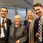 Senator Patty Murray, Jon Hiskes, Andy Nestingen, Lela Hilton