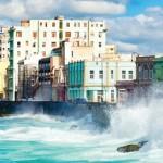 Malecon seawall, Havana