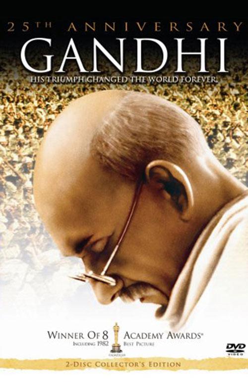 """Gandhi,"" Dir. Richard Attenborough. 1982."