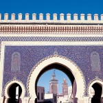 Blue Gate of Fes, Morocco