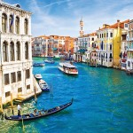 Venetian waterways and boats