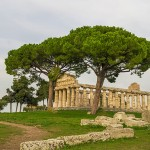Paestum contains three of the most well-preserved ancient Greek temples in the world.