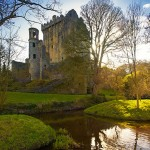 Blarney Castle is a medieval stronghold in Blarney, near Cork, Ireland. Though earlier fortifications were built on the same spot, the current keep dates from 1446