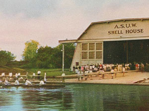 Historical Photo of the ASUW Shell House