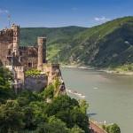 Rheinstein Castle (German: Burg Rheinstein) is a castle near the town of Trechtingshausen in Rhineland-Palatinate, Germany