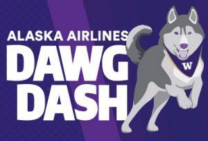 Alaska Airlines Dawg Dash logo