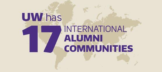 UW has 17 International Alumni Communities