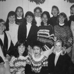 Student group from UW 1994 Yearbook