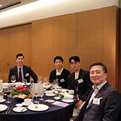 Alumni at Husky Night in Korea