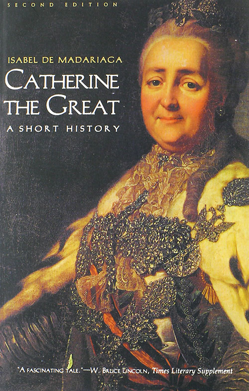 Catherine II, Empress of Russia, Translated by Markus Cruse and Hilde Hoogenboom, The Memoirs of Catherine the Great (New York: Modern Library, 2005)
